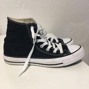 Black High Top Converse.